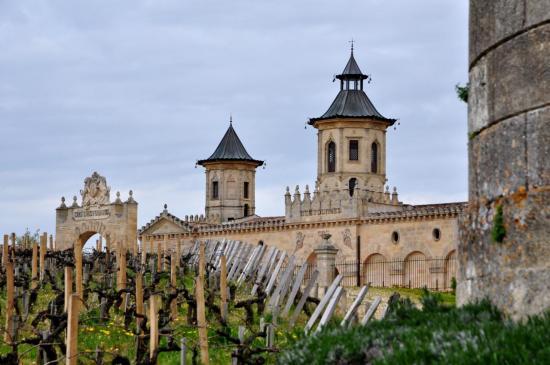 Château Cos d'Estournel - Gironde - Avril 2013