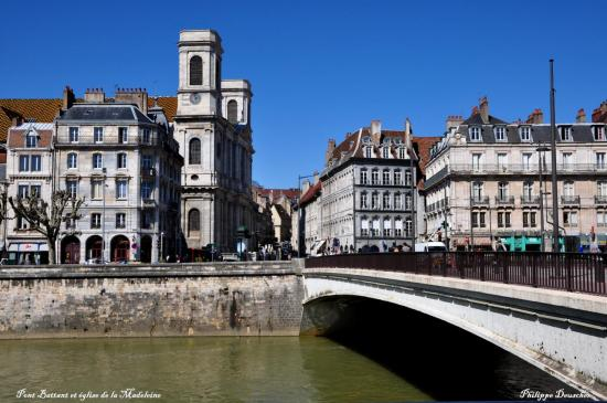 Pont Battant à Besançon