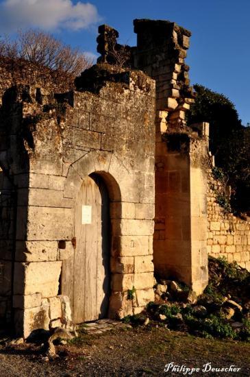 Ruines du château de Bouteville - Charente - Octobre 2010