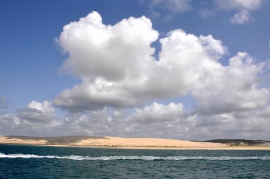 Ciel de traîne dans le bassin d'Arcachon  - Gironde - Juillet 2012