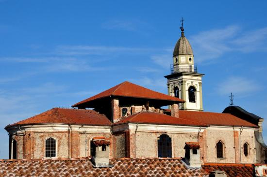 Eglise de Carpignano Sesia - Piémont - Italie - Août 2012