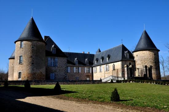 Château de Rochebrune à Etagnac - Charente - Mars 2012