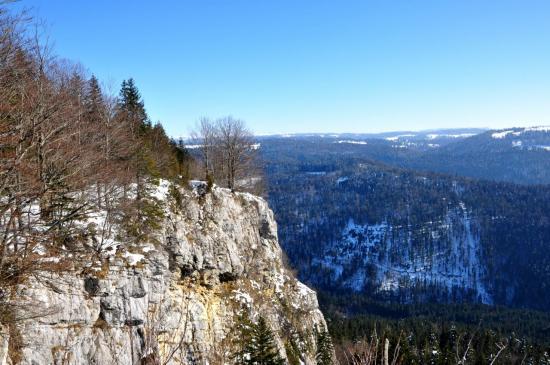 Belvédère de La Cendrée - Doubs - Février 2013