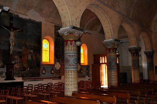 Eglise de Vensac - Gironde - Avril 2013