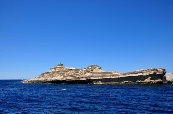 Au large de Bonifacio - Corse du sud - Août 2013