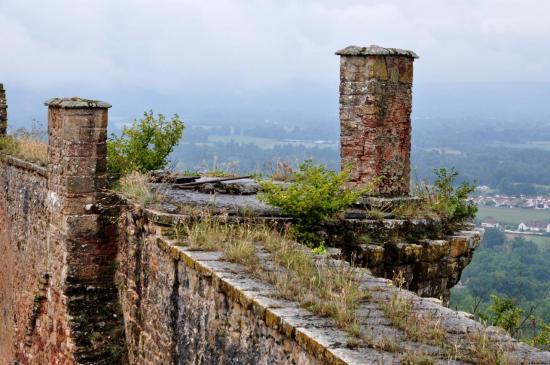 Château médiéval de Castelnau-Bretenoux - Lot - Août 2013
