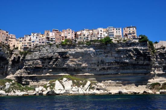 Ville de Bonifacio - Corse du sud - Août 2013