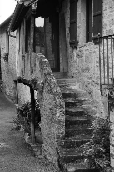 Village de Carennac - Lot - Août 2013