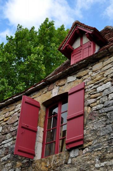 Village de Loubressac - Lot - Août 2013