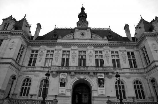 Hôtel de ville de Niort - Deux-Sèvres - Octobre 2013
