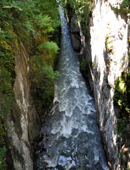 Gorges de Tines - Haute-Savoie - Juillet 2016