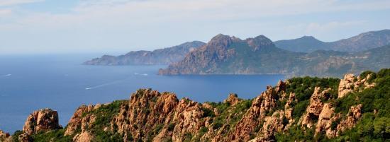 Calanches de Piana - Corse du sud - Août 2014