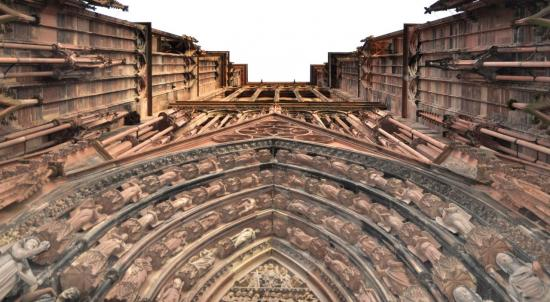 Cathédrale de Strasbourg - Bas Rhin - Décembre 2013