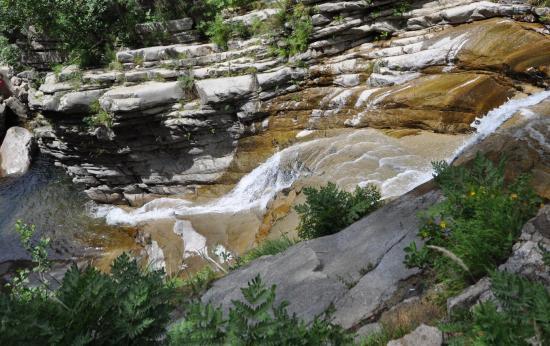 Cascade d'Aïtone - Corse du sud - Août 2014