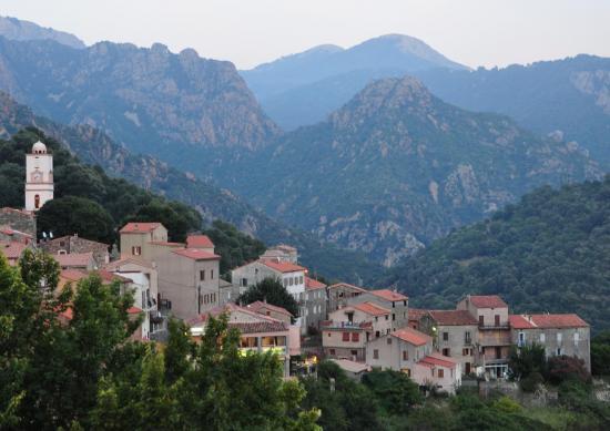 Village d'Ota - Corse du sud - Août 2014