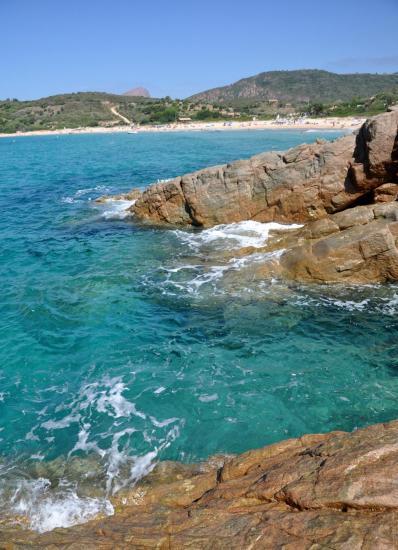 Plage d'Arone - Corse du sud - Août 2014