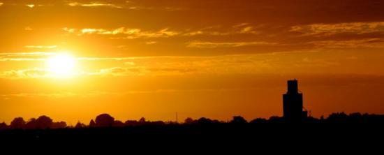 Lever de soleil en Charente maritime - Octobre 2012