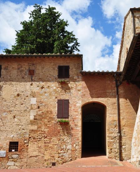 San Gimignano - Toscane - Italie - Août 2014