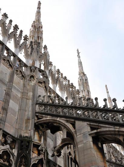 Dôme de Milan - Lombardie - Italie - Octobre 2014