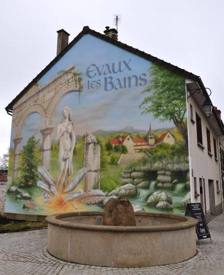 Evaux-Les-Bains - Creuse - Février 2015