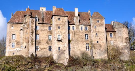 Château de Boussac - Creuse - Février 2015