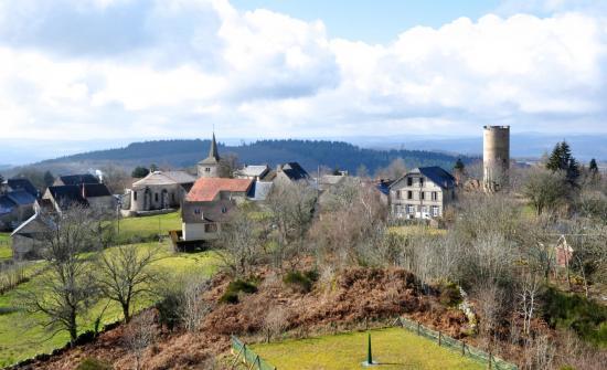 Toulx-Sainte-Croix - Creuse - Février 2015