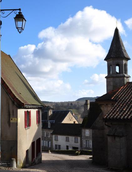 Crocq - Creuse - Février 2015