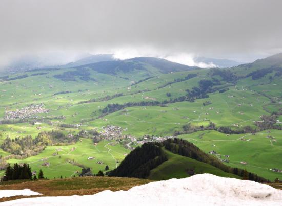 Appenzell - Suisse orientale - Mai 2015