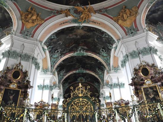 Cathédrale de Saint Gall - Suisse orientale - Mai 2015