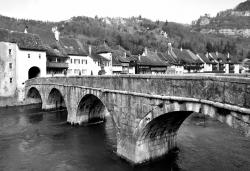 Saint Ursanne - Canton du Jura suisse - Mar 2015
