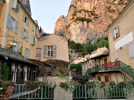 Moustiers Sainte Marie - Alpes de haute Provence - Juillet 2015