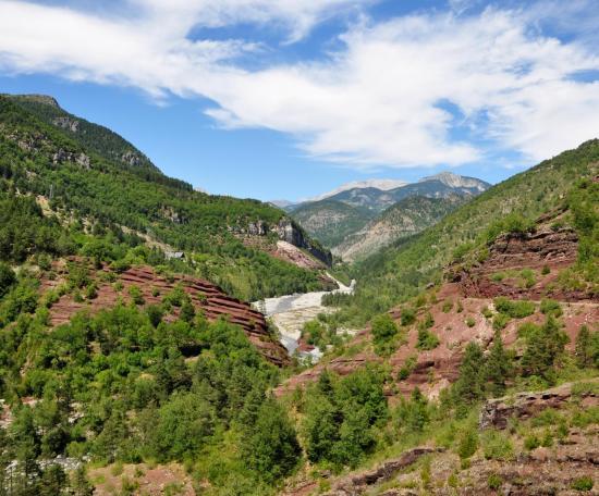 Gorges de Daluis - Alpes maritimes - Juillet 2015
