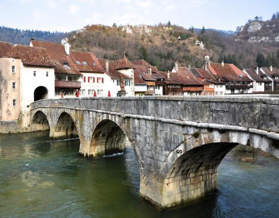 Saint-Ursanne - Suisse - Février 2015