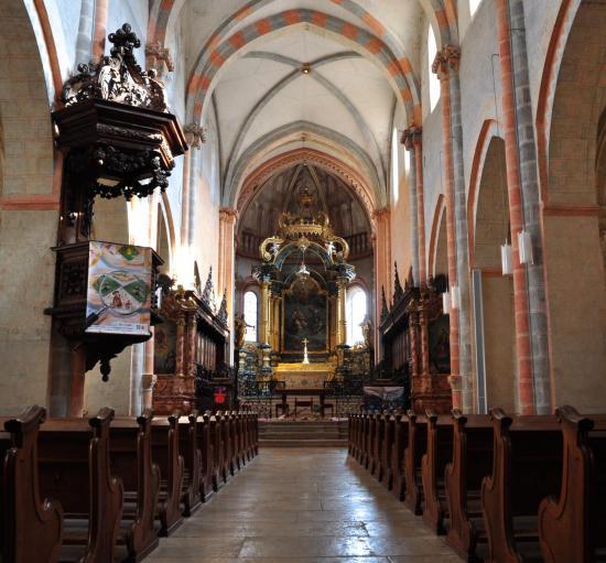 Collégiale de Saint Ursanne - Suisse - Mai 2015