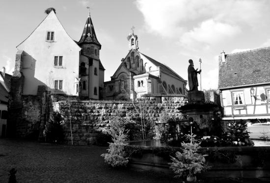 Eguisheim - Haut-Rhin - Janvier 2016