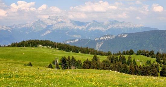 Massif du Semnoz - Haute-Savoie - Juillet 2016