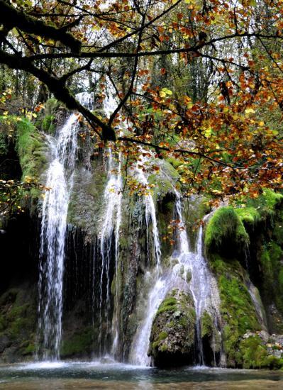 Cascades aux environs de Poligny - Jura - Octobre 2016