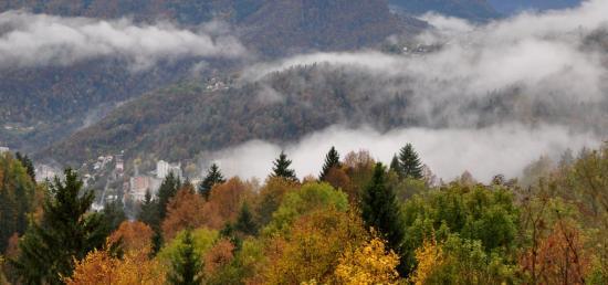 Belvédère de Cinquetral - Jura - Octobre 2016