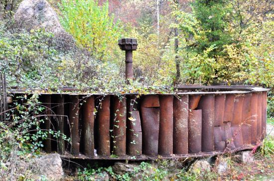 Cascade de l'abîme - Jura - Octobre 2016