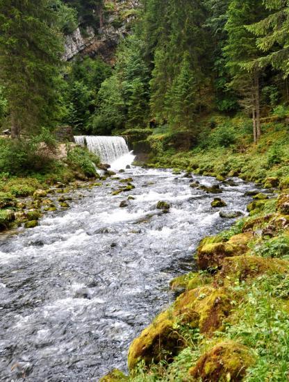 La source du Doubs à Mouthe