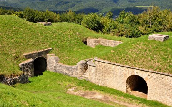 Fort des Roches à Pont-De-Roide - Vermondans - Août 2017