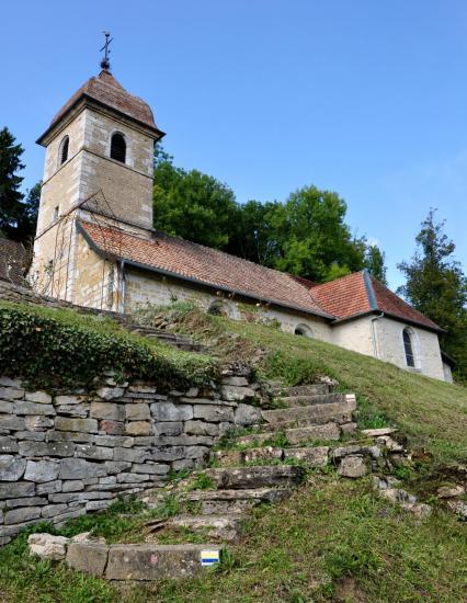 Eglise de Belvoir - Doubs - Septembre 2017
