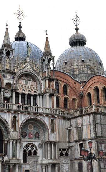 Place Saint Marc à Venise - Vénétie - Avril 2014