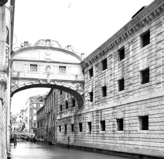Le Pont des Soupirs à Venise - Vénétie - Avril 2014
