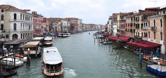 Le Grand Canal à Venise - Vénétie - Avril 2014