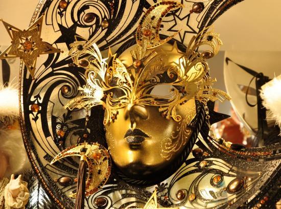 Masque vénitien - Vénétie - Avril 2014