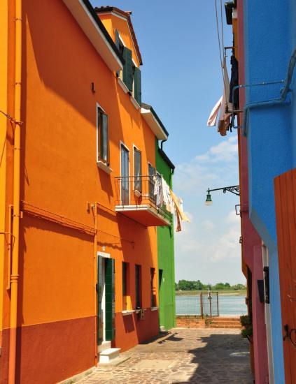 Village de Burano - Vénétie - Avril 2014