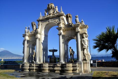 Fontana del gigante - Naples - Juillet 2017