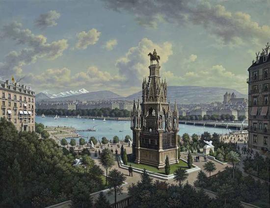 Monument Brunswick à Genève
