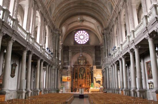 Eglise saint Maimboeuf à Montbéliard